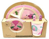 Набор детской посуды (бамбуковое волокно) SL-246-43, фото 1