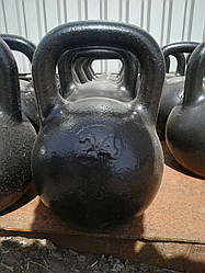 Гиря чугунная 24кг фитнесс