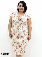 Женское, нарядное, летнее платье 54 р