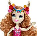 Кукла Enchantimals Лама Ллуэлла с большой зверюшкой FRH42, фото 5