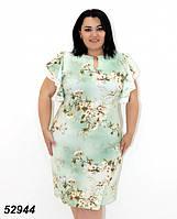 Женское, нарядное, летнее платье с гипюром 54 р