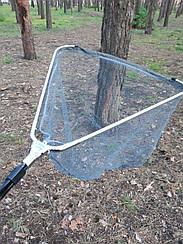 Подсак телескопический Weida(капрон  покрытый латексом)   57*57*300 см C