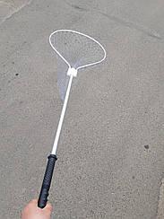 Подсак овальныйскладной  (кордовая нить)   48*50*145 см С