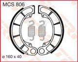 TRW LUCAS ТОРМОЗНЫЕ КОЛОДКИ   (160X40MM) (MCS806)