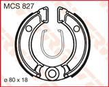 TRW LUCAS ТОРМОЗНЫЕ КОЛОДКИ   (80X18MM) (MCS827)