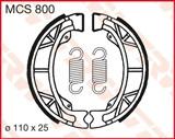 TRW LUCAS ТОРМОЗНЫЕ КОЛОДКИ   (110X25MM) (MCS800)