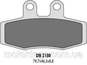 DELTA BRAKING ТОРМОЗНЫЕ КОЛОДКИ    KH132 (DB2180MX-D)