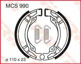 TRW LUCAS ТОРМОЗНЫЕ КОЛОДКИ   (110X23MM) (MCS990)