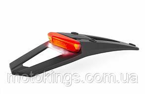 POLISPORT ТАБЛИЦЫ НОМЕРНОГО ЗНАКА С ЛАМПОЙ RSP LED 3.0 (Красный) ЦВЕТ Черный
