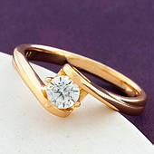 Женское кольцо из медицинского золота Xuping 20