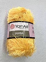 47 Пряжа «Травка» Samba 100гр - 150м (Жёлтый) YarnArt