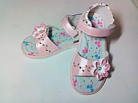 БОСОНОЖКИ для девочки  28 размер / Стелька 18,2 см / сандали