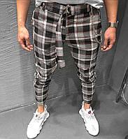 Спортивные брюки - Мужские спортивные штаны в клетку