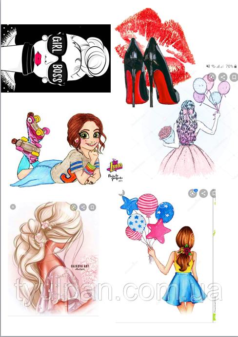 Вафельные картинки инстаграм гламур с днем рождения девушке для пряника