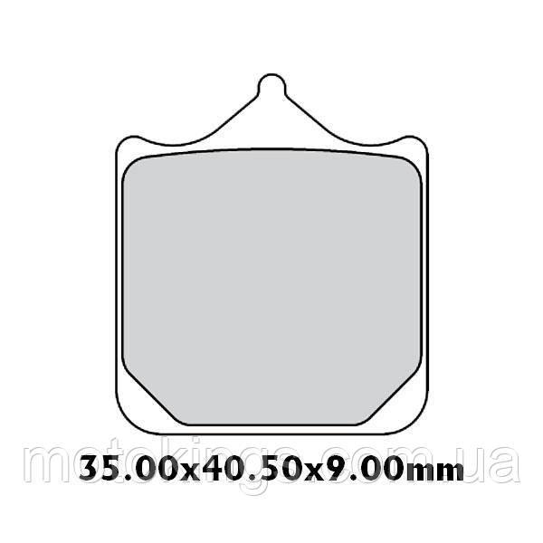 GALFER ТОРМОЗНЫЕ КОЛОДКИ    KH604/4 ПОЛУМЕТАЛИЧЕСКИЕ BMW S 1000RR ПЕРЕДНИЕ  (FD437G1651)