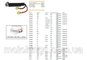 DСE РЕГУЛЯТОР НАПРЯЖЕНИЯ SUZUKI GSF/GSX/GSXR, YAMAHA FСR 1000 KAWASAKI GPС 900/1000/1100, ССR1100/1200, СRX1100/1200 (10016-01)