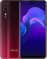 """Смартфон ViVo Y15 4/64GB Dual Sim Burgundy Red; 6.35"""" (1544х720) IPS / MediaTek MT6762 / ОЗУ 4 ГБ / 64 ГБ встроенной + microSD до 256 ГБ / камера"""
