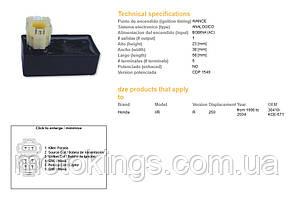 DСE МОДУЛЬ ЗАЖИГАНИЯ  CDI HONDA XR 250 96-04 (30410-KCE-671) (1317-01)