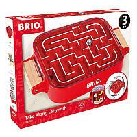 Детская игра лабиринт, двухсторонний, ручной Brio, фото 1