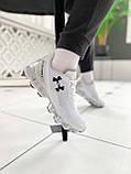 Мужские кроссовки Under Armour Scorpio Running shoes White (Топ качество), фото 2