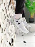 Мужские кроссовки Under Armour Scorpio Running shoes White (Топ качество), фото 3