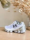 Мужские кроссовки Under Armour Scorpio Running shoes White (Топ качество), фото 4