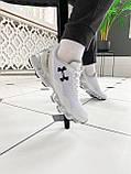Мужские кроссовки Under Armour Scorpio Running shoes White (Топ качество), фото 6