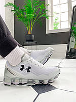 Мужские кроссовки Under Armour Scorpio Running shoes White (Топ качество), фото 1