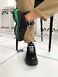 Кроссовки Balenciaga (Баленсиага) Triple S CLEAR SOLE BLACK/GREEN, фото 4