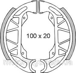 BRENTA ТОРМОЗНЫЕ КОЛОДКИ   SH806 (FT 0275)