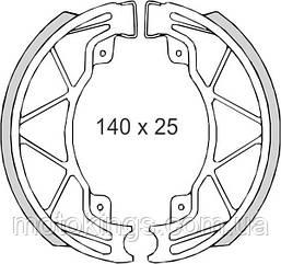 BRENTA ТОРМОЗНЫЕ КОЛОДКИ   SH816 (FT 0300)