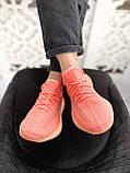 "Стильні кросівки Adidas Yeezy Boost 350 V2 ""Pink S"", фото 5"