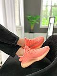 "Стильні кросівки Adidas Yeezy Boost 350 V2 ""Pink S"", фото 8"