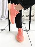 "Стильні кросівки Adidas Yeezy Boost 350 V2 ""Pink S"", фото 7"