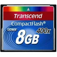 Карта памяти Transcend CompactFlash 8Gb 400х USB