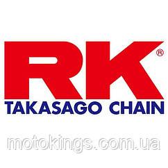 RK GB525GXW-124 ЦЕПЬ (ЦВЕТ ЗОЛОТОЙ)  (124 УЗЛОВ) (GB525GXW-124)