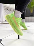 """Стильные кроссовки Adidas Yeezy Boost 350 V2 """"Glow"""", фото 2"""