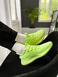 """Стильные кроссовки Adidas Yeezy Boost 350 V2 """"Glow"""", фото 3"""