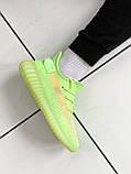 """Стильные кроссовки Adidas Yeezy Boost 350 V2 """"Glow"""", фото 5"""