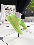 """Стильные кроссовки Adidas Yeezy Boost 350 V2 """"Glow"""", фото 6"""