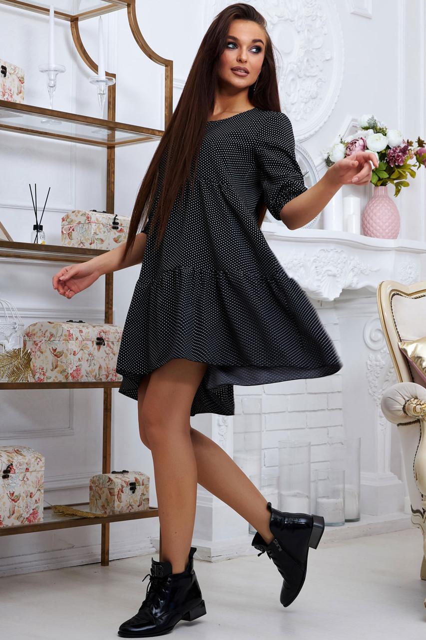 Платье  в горох лето 2020