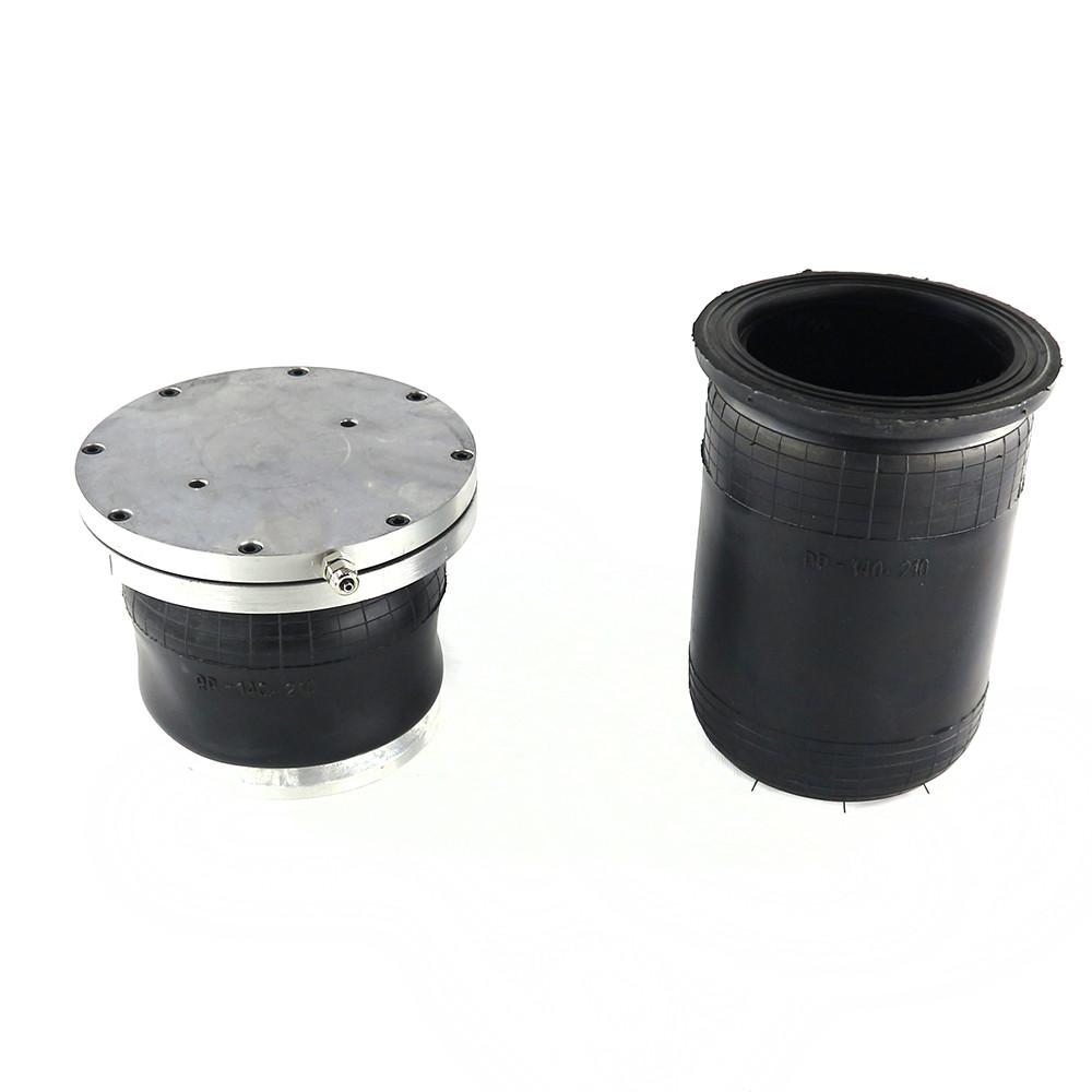 Пневмоподушка RP 140-260. Пневморессора рукавного типа рп 140 260 в место пружин
