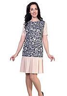 Платье  ультрамодного полуприлегающего силуэта, фото 1