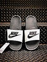 Шлёпанцы Nike Black / шлепки / Тапки найк