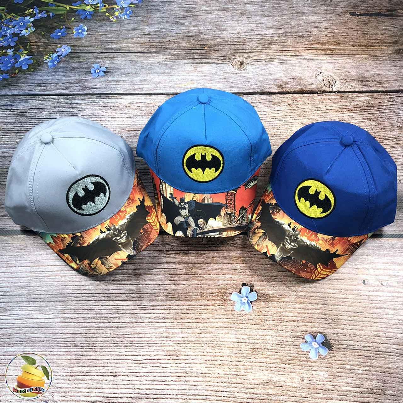 """Кепка """"Batman"""" для хлопчика (обсяг 52 см) (3120)"""