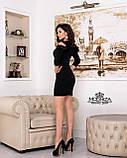 """Платье с воланами на рукавах """"Глэдис"""".Распродажа, фото 7"""