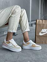 "Женские кроссовки Nike Air Force ""Jester Light Bone"", фото 1"