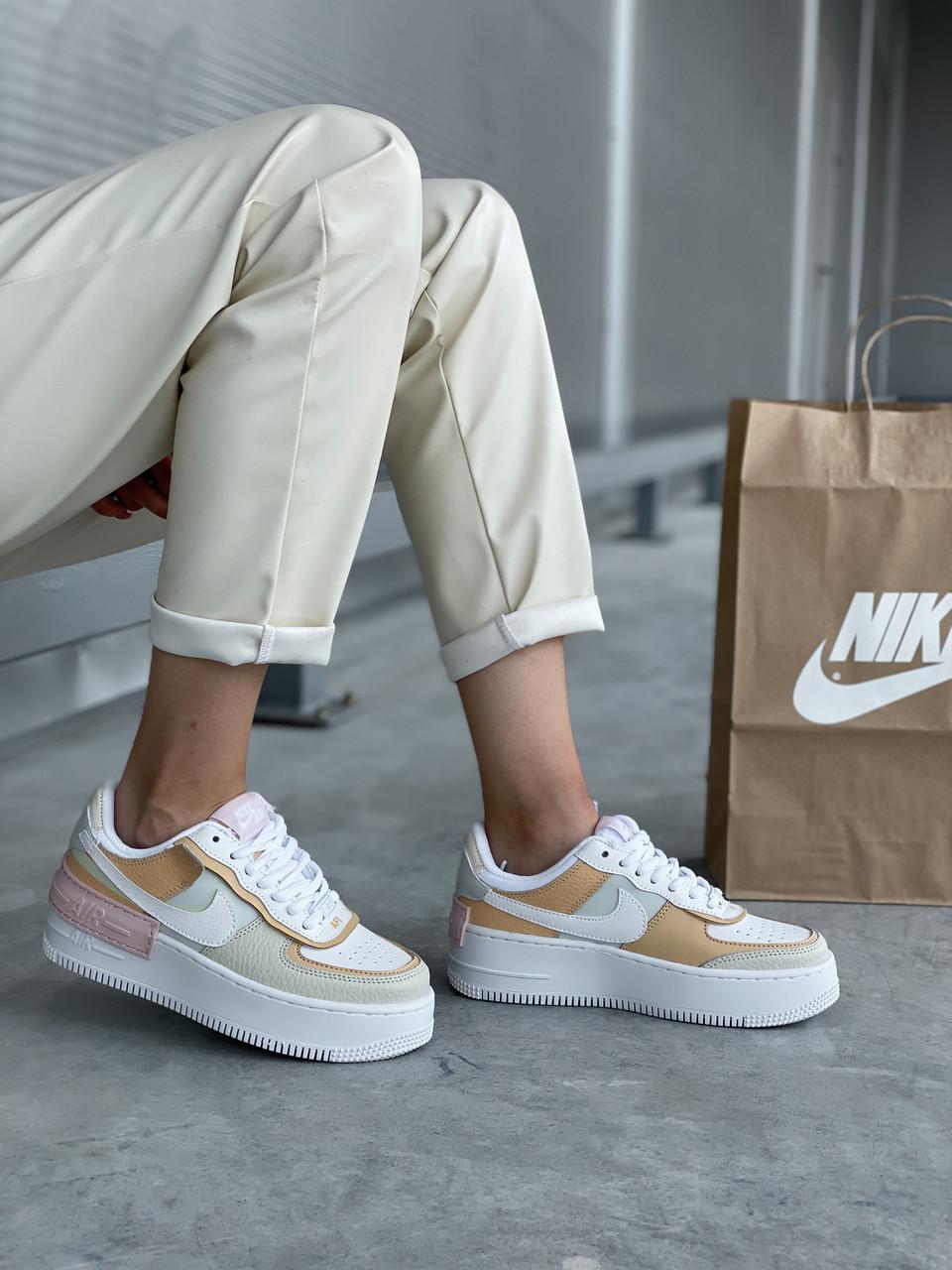 "Женские кроссовки Nike Air Force ""Jester Light Bone"""