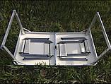 Походный стол для пикника Rainberg RB-9300 усиленный с 4 стульями, фото 9