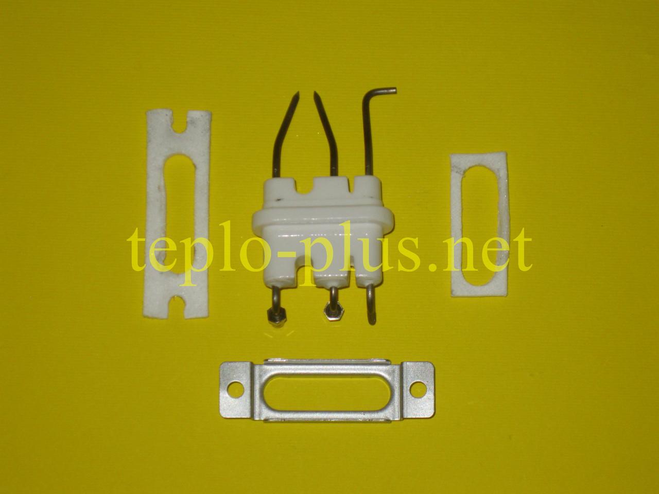 Электрод розжига и ионизации в сборе BH2542001C (BH2542001A, BH2542001В) Navien Ace ATMO, TURBO Coaxial